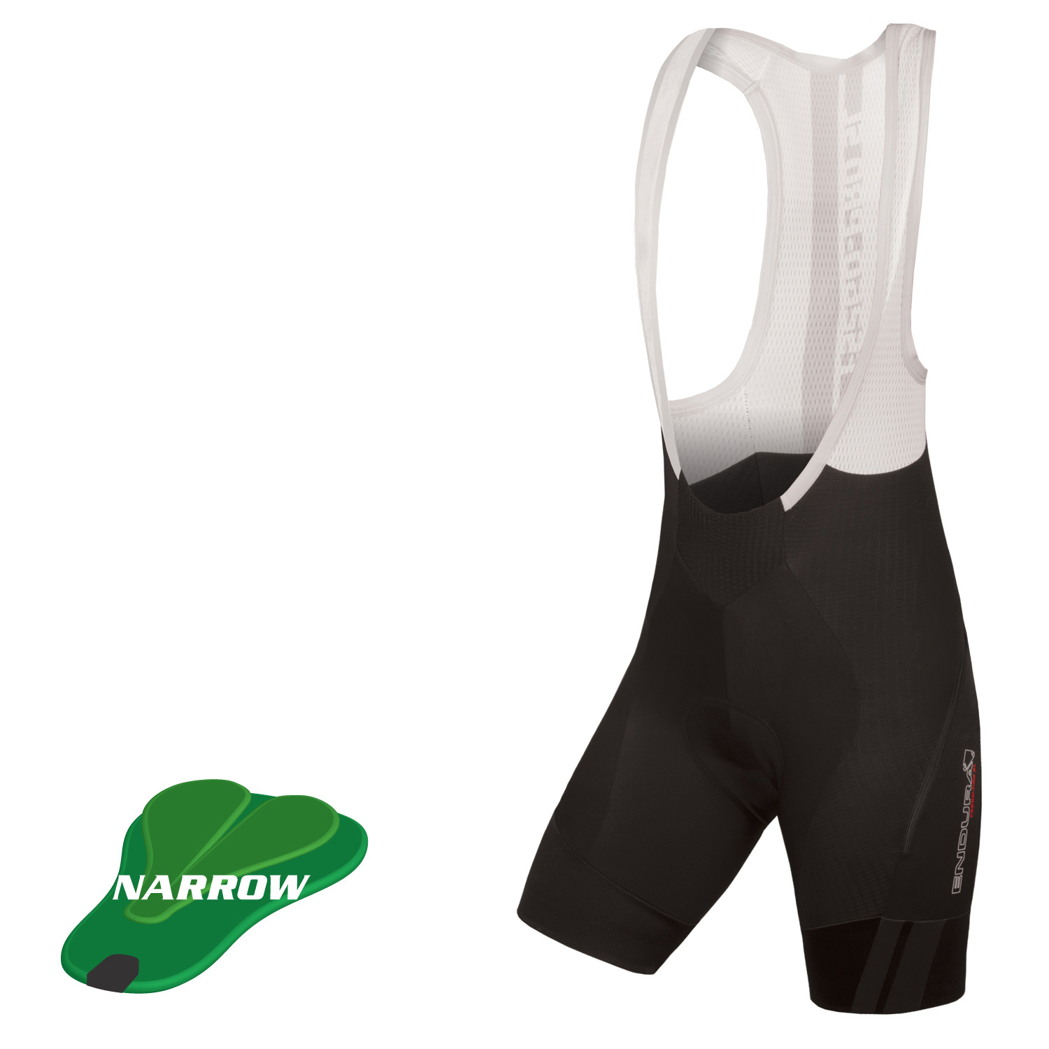 Wms Pro SL Bibshort DS (narrow-pad) Black