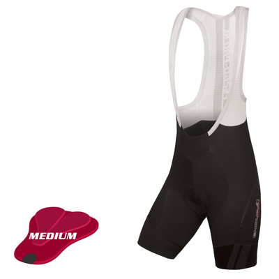 Wms Pro SL Bibshort DS (medium-pad) Black