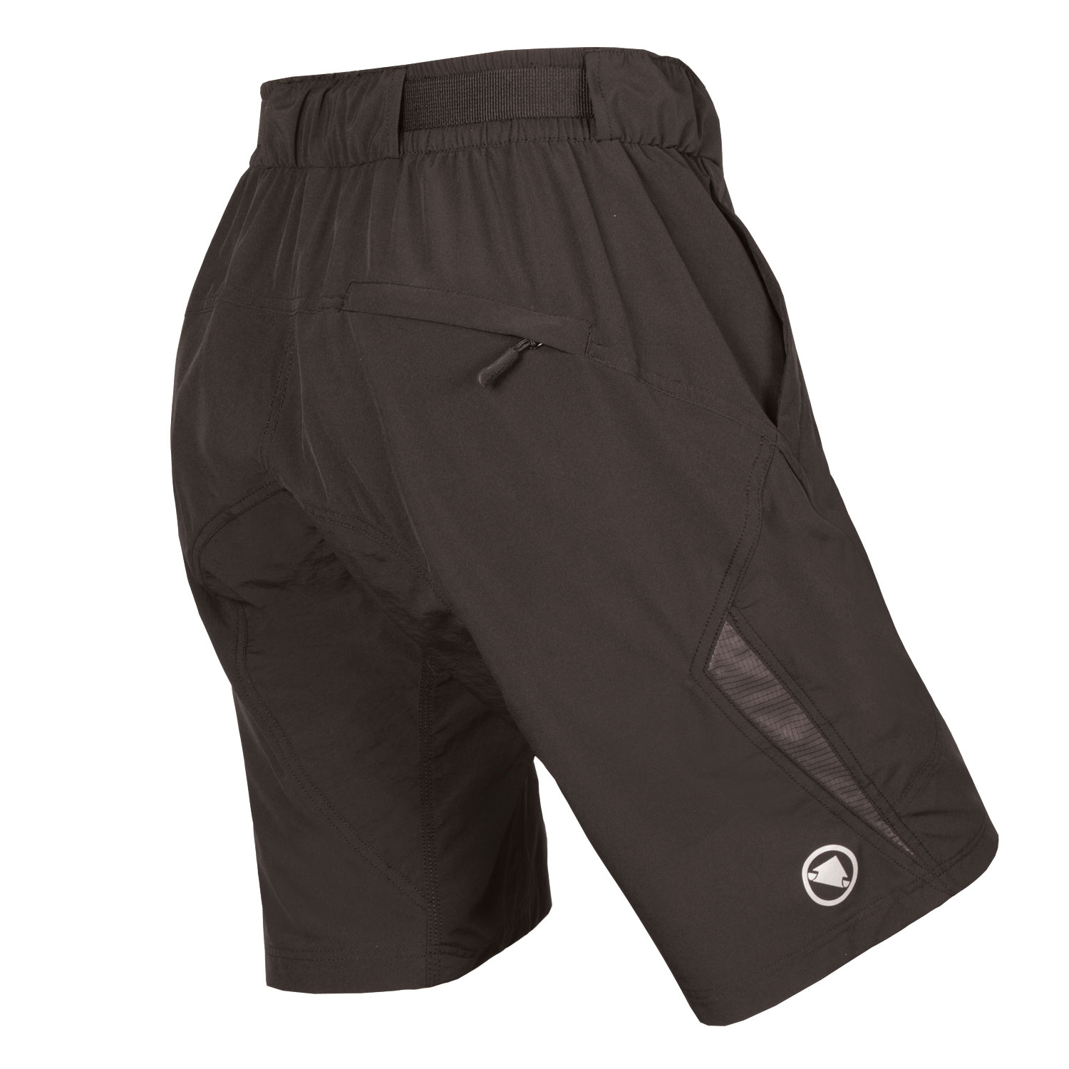 Women's Hummvee Lite Short II with liner Black