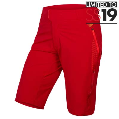 Wms SingleTrack Lite Short II Rust Red