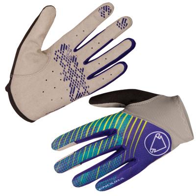 Wms Hummvee Lite Glove Cobalt Blue