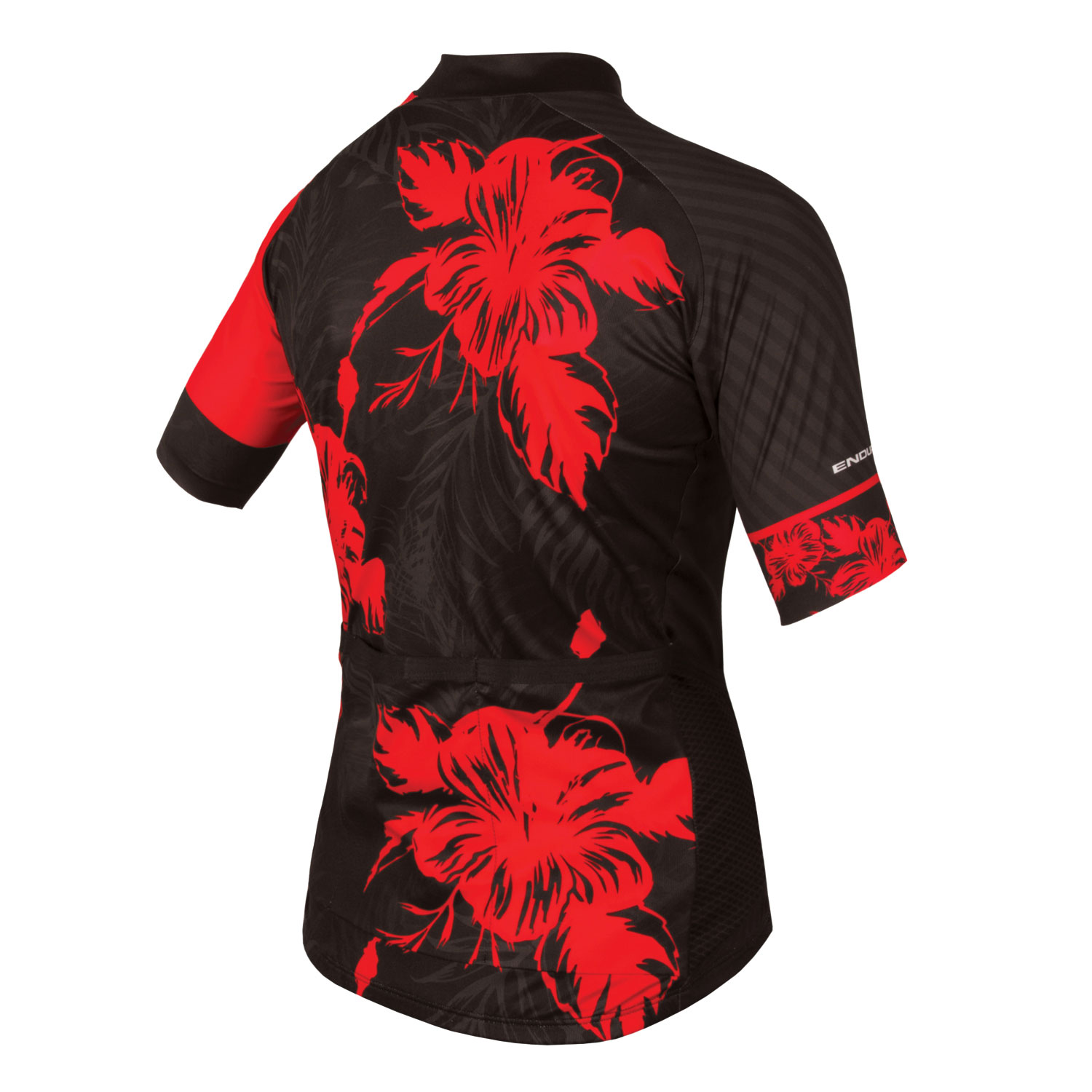 Wms Botanix Graphics S/S Jersey Red