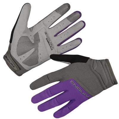 Wms Hummvee Plus Bike Glove II  Purple