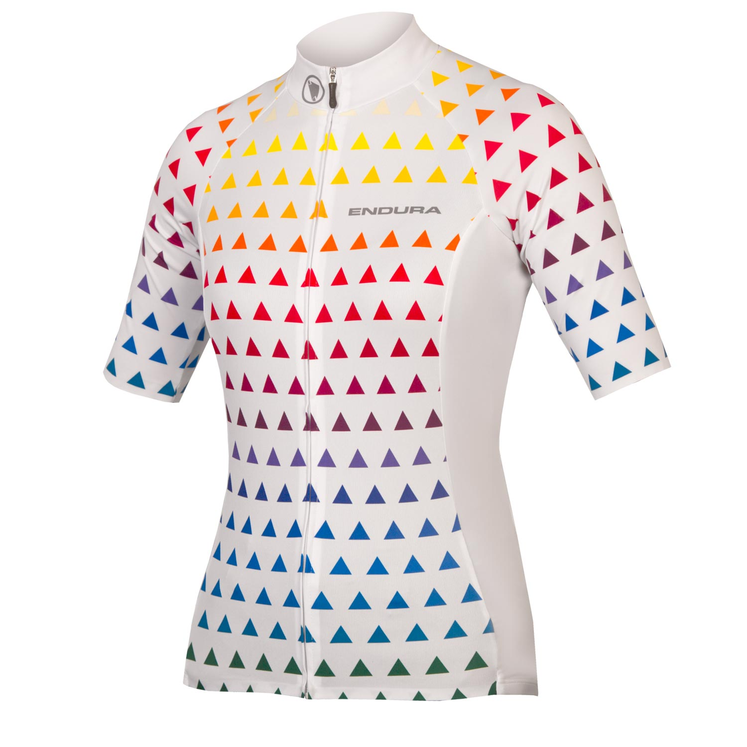 Wms Triangulate S/S Jersey White