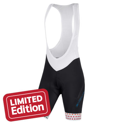 Wms Triangulate Bibshort White