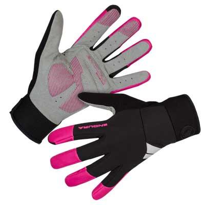 Wms Windchill Glove Cerise