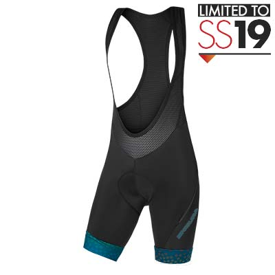 Wms PT Scatter Bibshort LTD Kingfisher