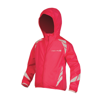 Kids Luminite Jacket II Hi-Viz Pink