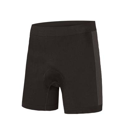 Kids Engineered Padded Boxer Black