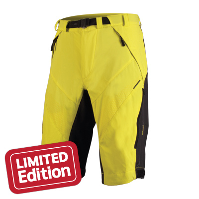 MT500 Spray Baggy Short Yellow