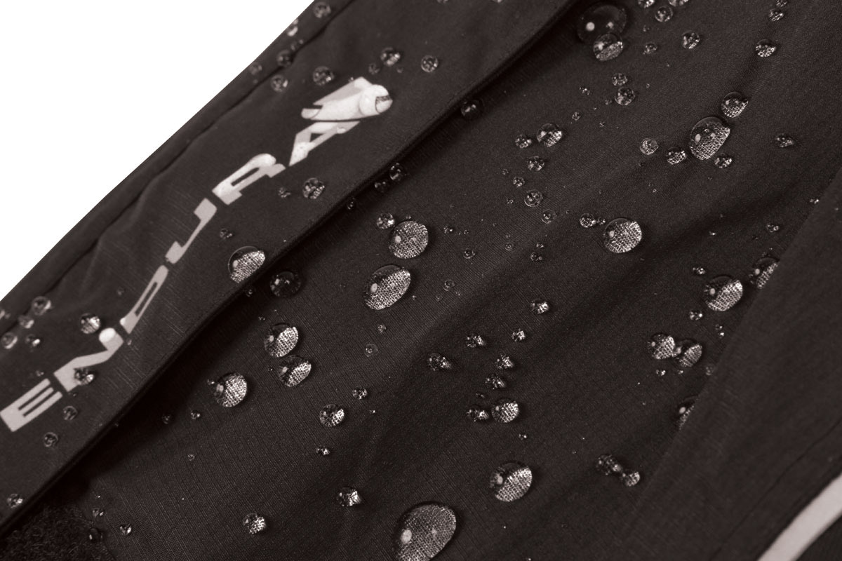 Fully seam-sealed compact 2.5-layer waterproof, breathable fabric