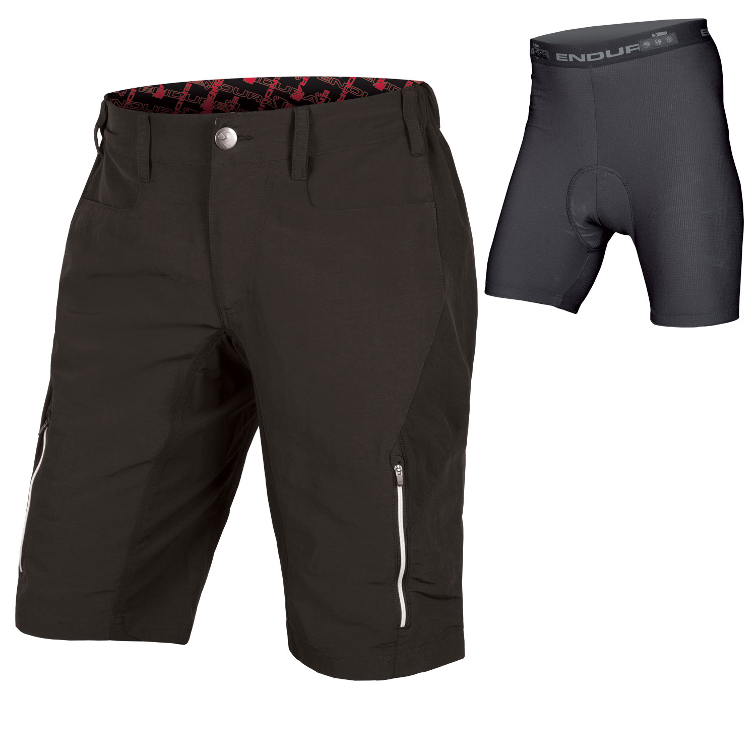 SingleTrack III Short with Liner Black