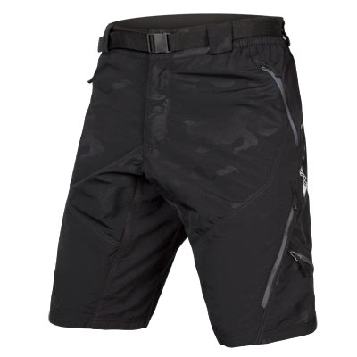 Hummvee Short II with liner Black Camo