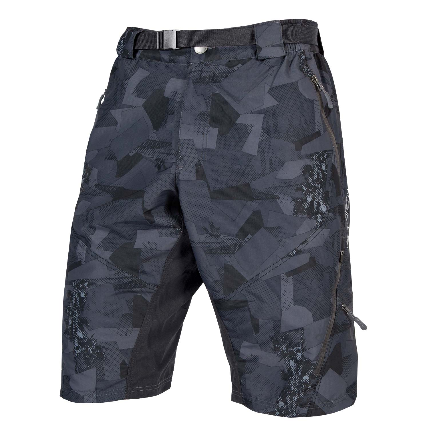 Hummvee Short II with liner Grey Camo