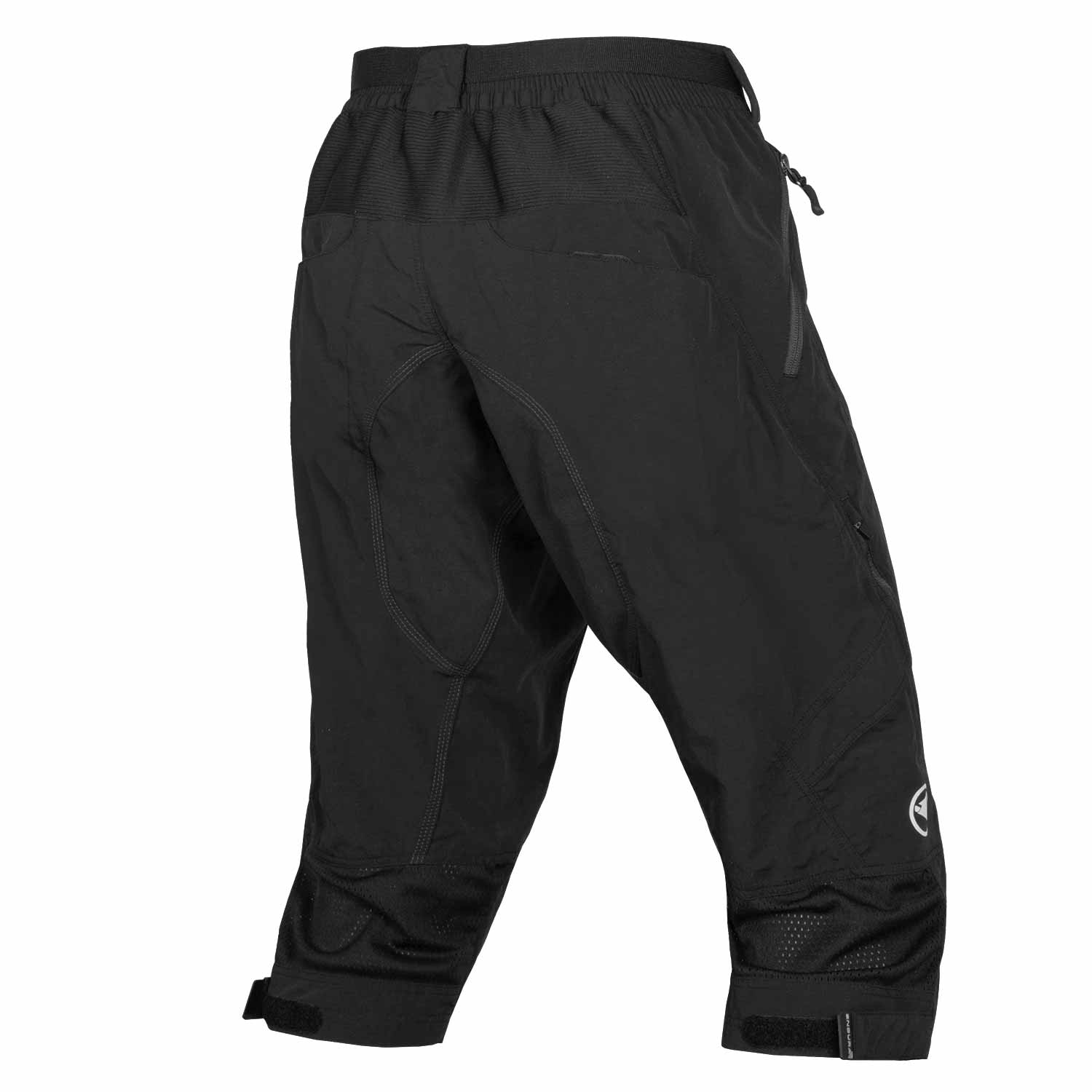 Hummvee 3/4 Short II with liner Black