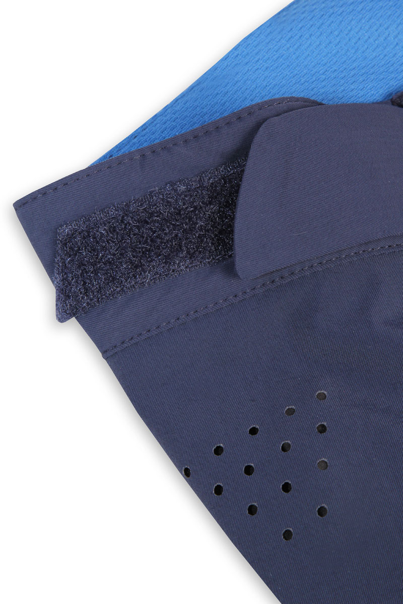 Stretch, wicking waistband with Velcro® side waist adjusters