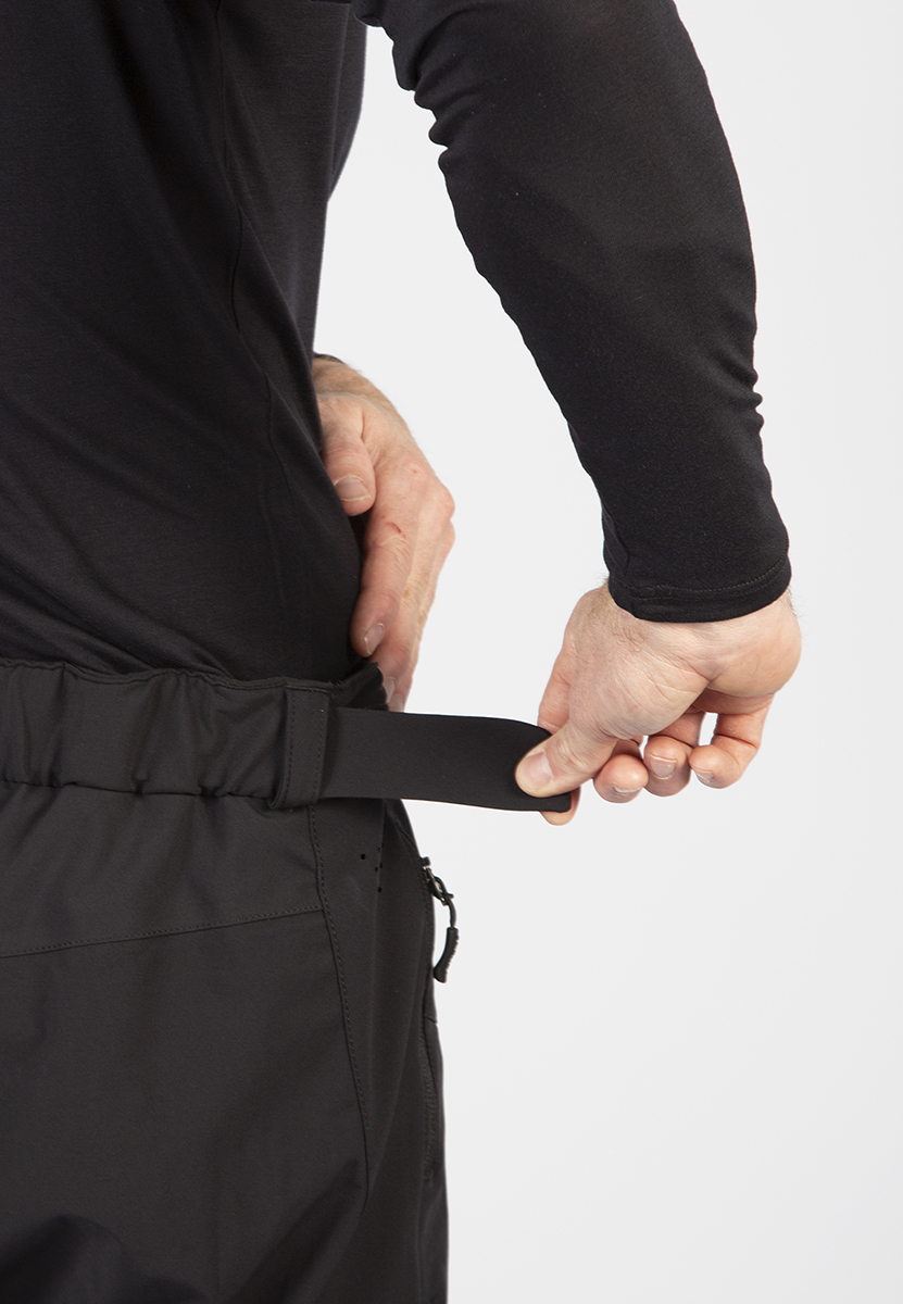 Stretch, wicking waistband with Velcro® side waist adjusters