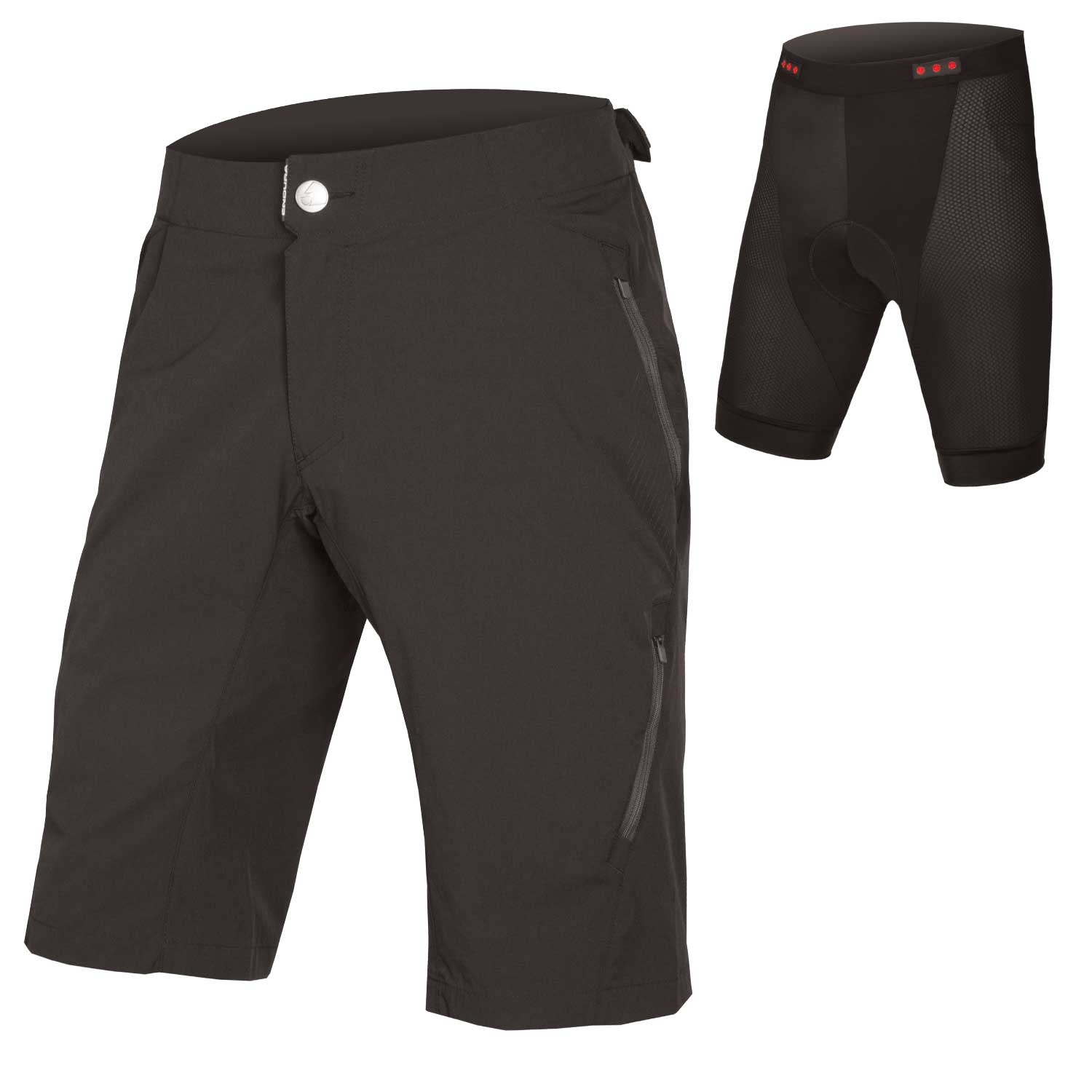 SingleTrack Lite Short II with Liner Black