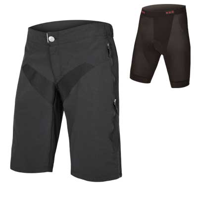 SingleTrack Short with Liner Black
