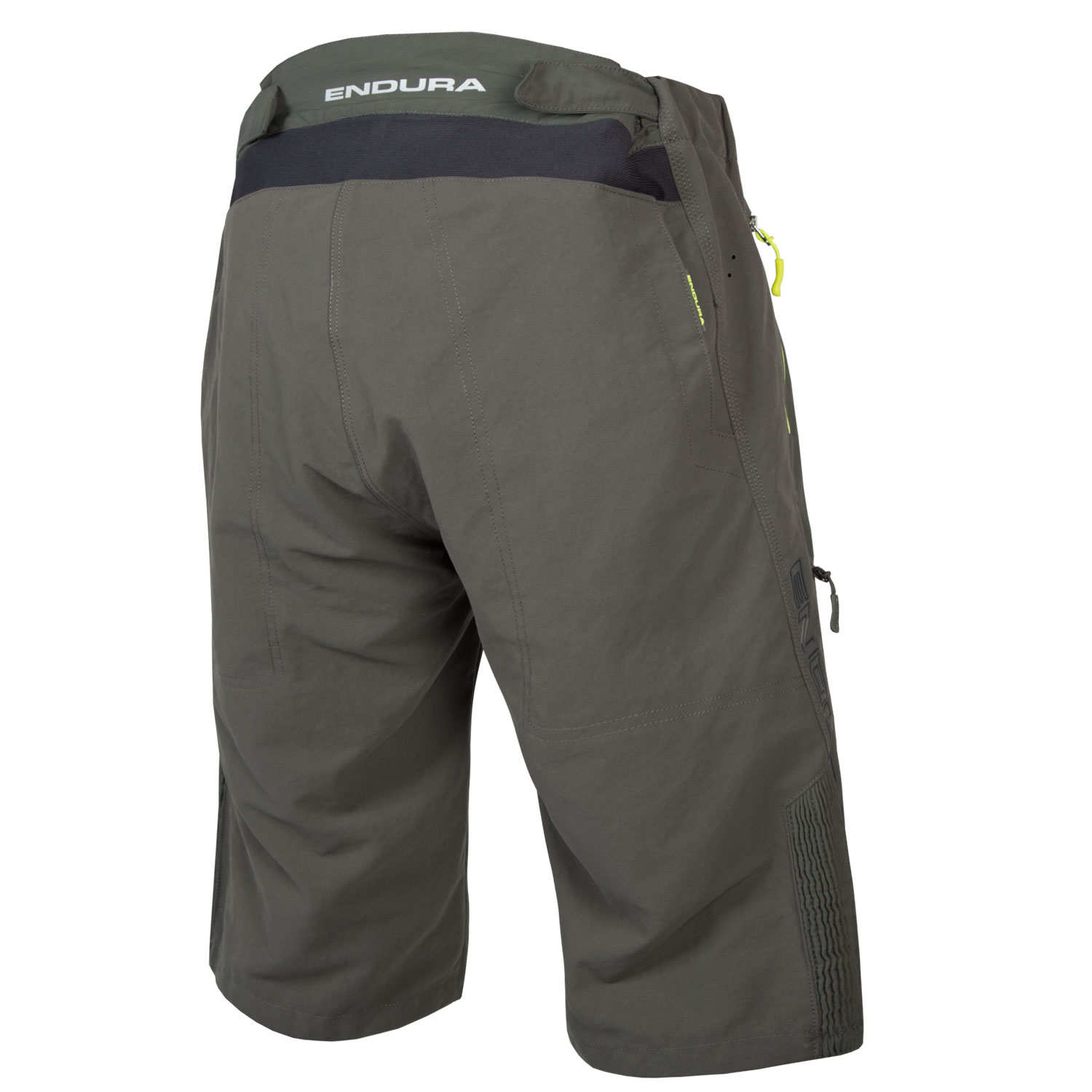 SingleTrack Short with Liner Khaki