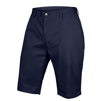 Hummvee Chino Short with Liner Short Navy