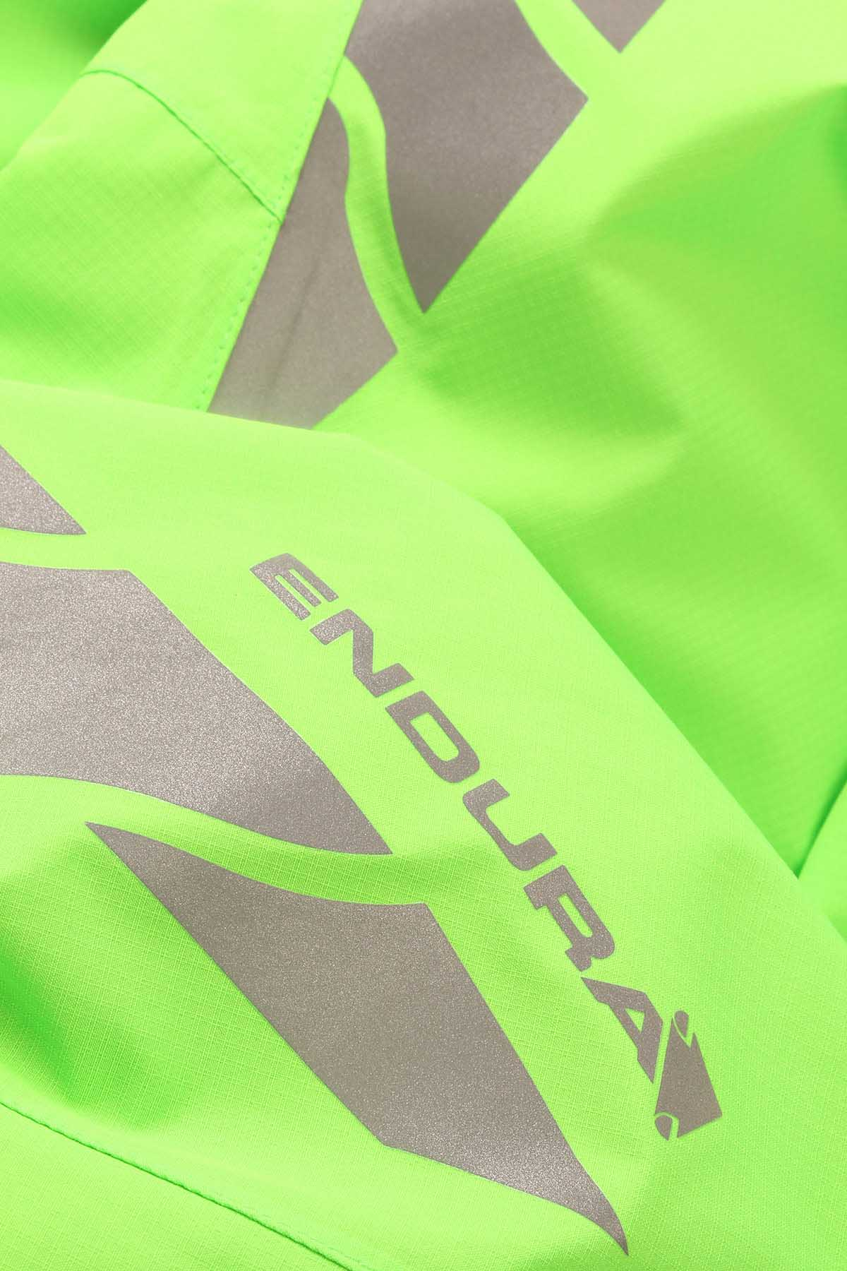 Emblazoned with high visibility 360 degree reflective safety chevrons