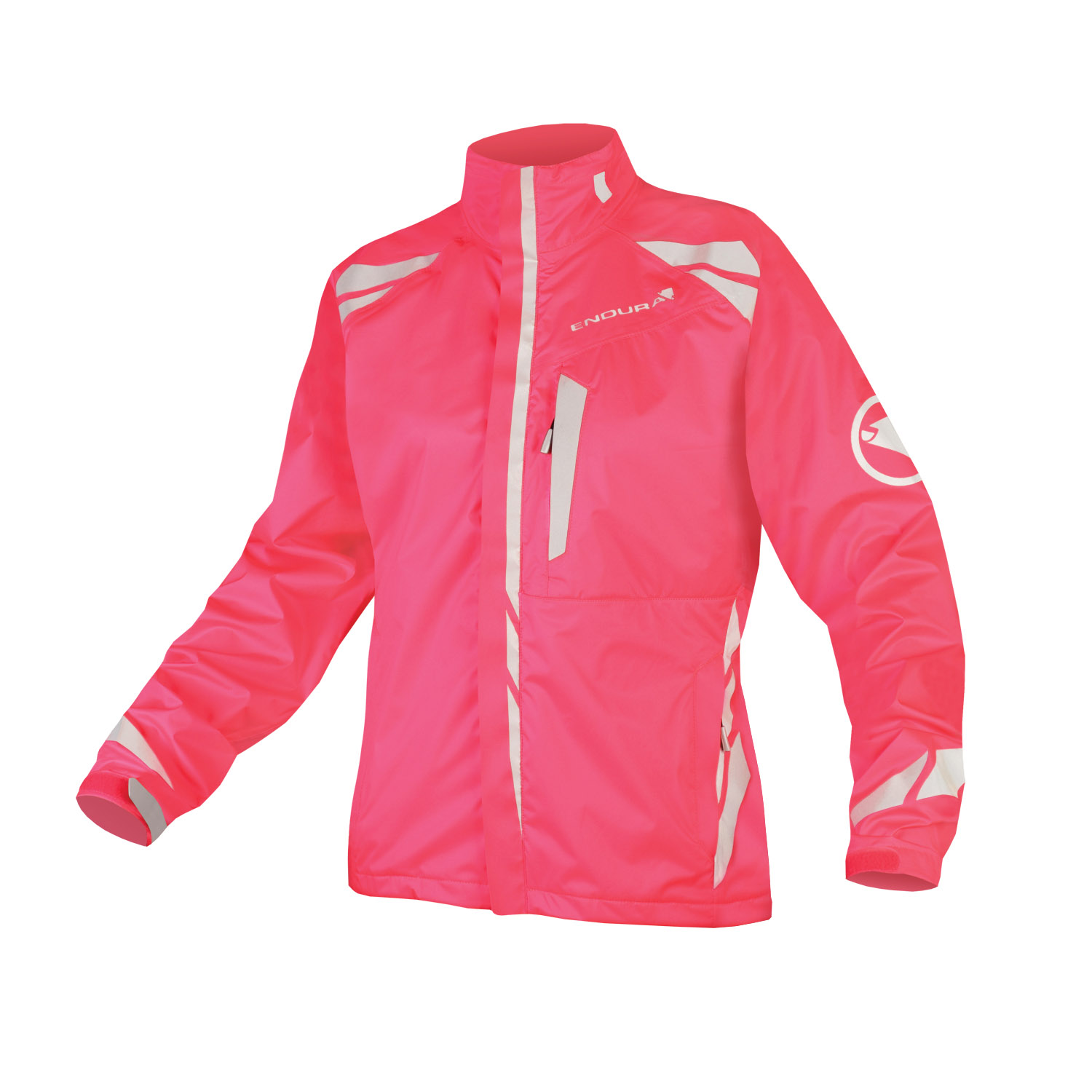 Wms Luminite 4 in 1 Jacket Hi-Viz Pink