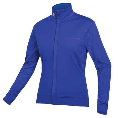 Wms Xtract Roubaix L/S Jersey Cobalt Blue