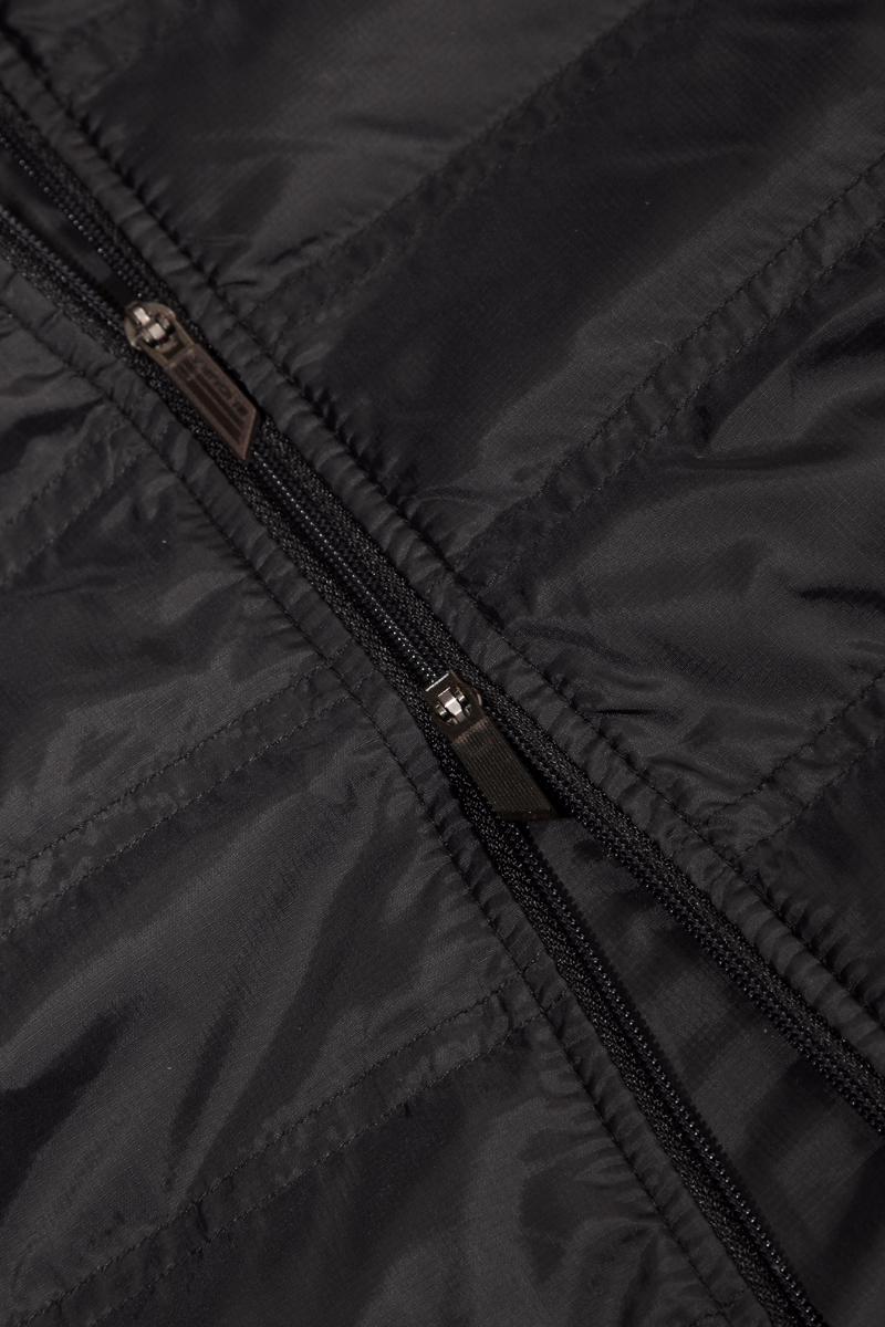 Full length, 2-way front zip