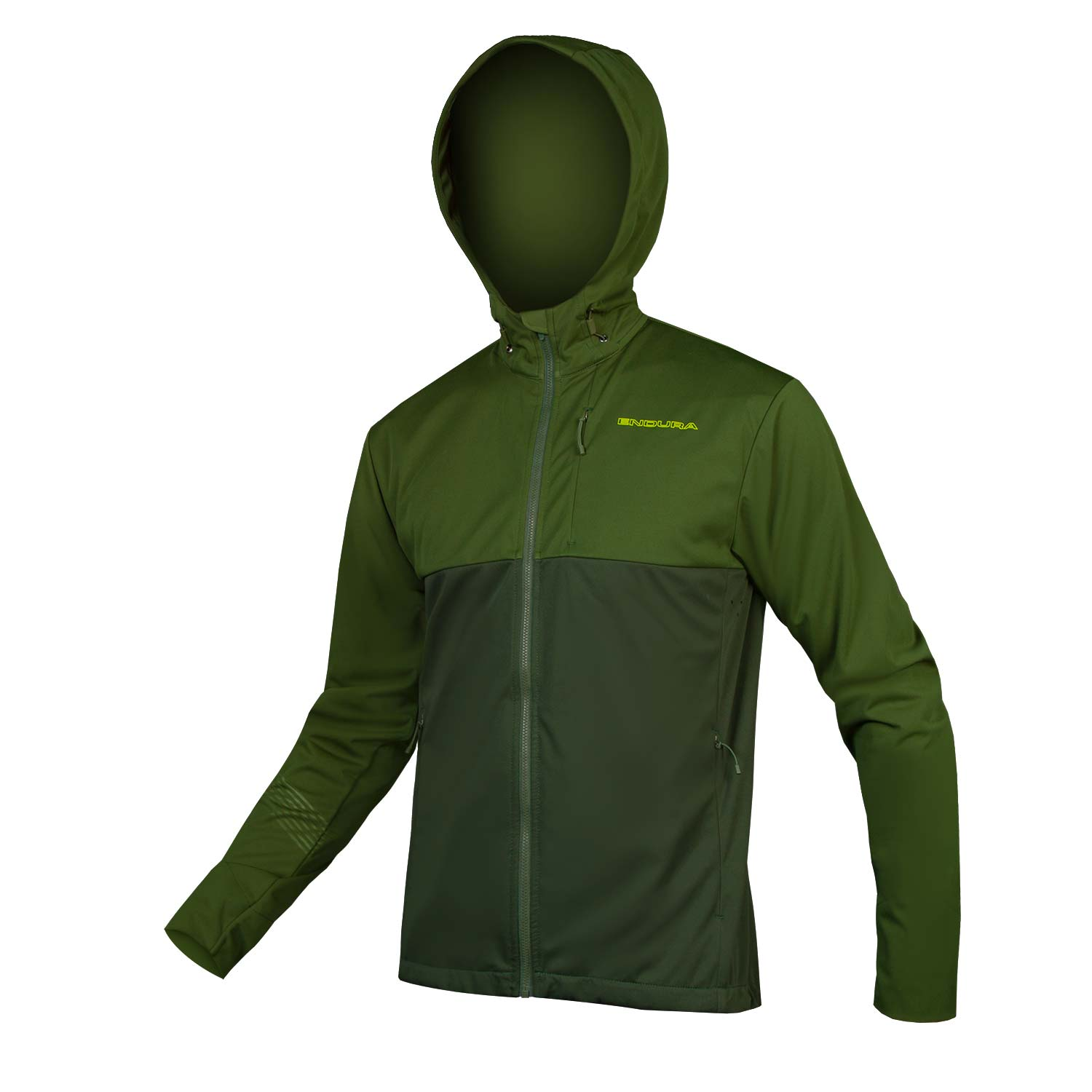 SingleTrack Softshell II Forest Green