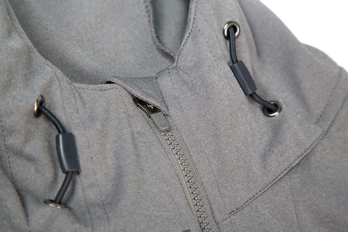 Integrated adjustable hood