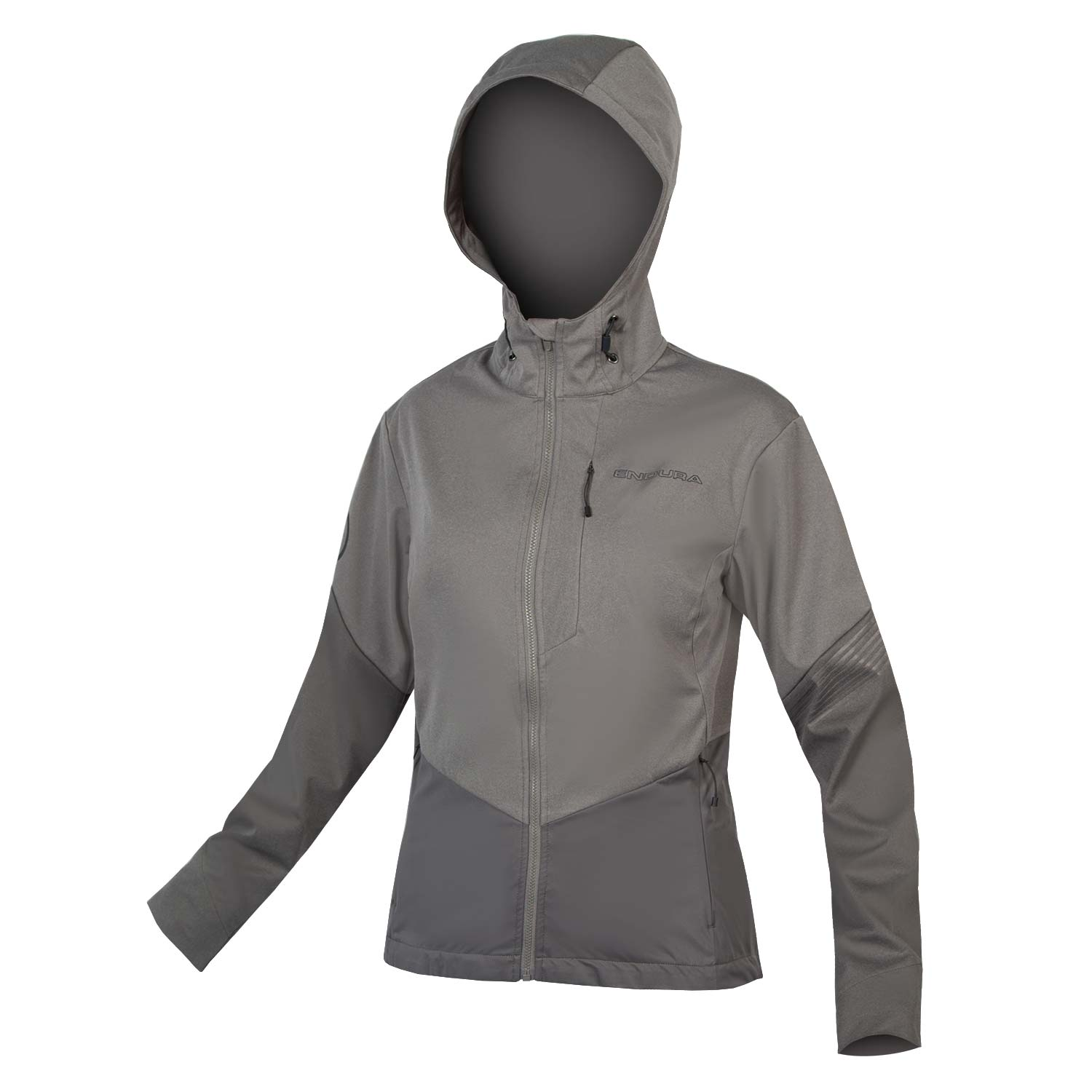 Wms SingleTrack Softshell II Pewter Grey