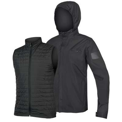 Urban 3 in 1 Waterproof Jacket Anthracite