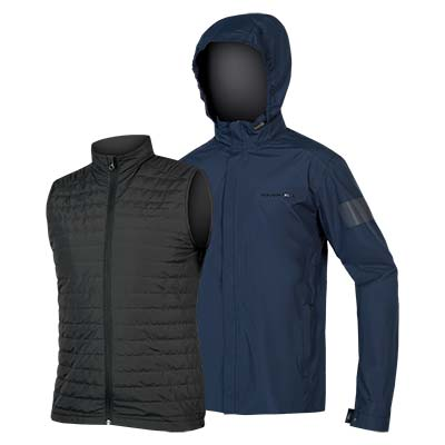 Urban 3 in 1 Waterproof Jacket Navy