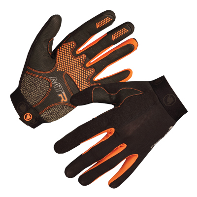 MTR Full Finger Glove Black/None