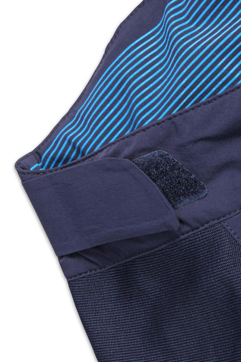 Anti-slip silicone print on rear inner waistband and Velcro® waist adjusters