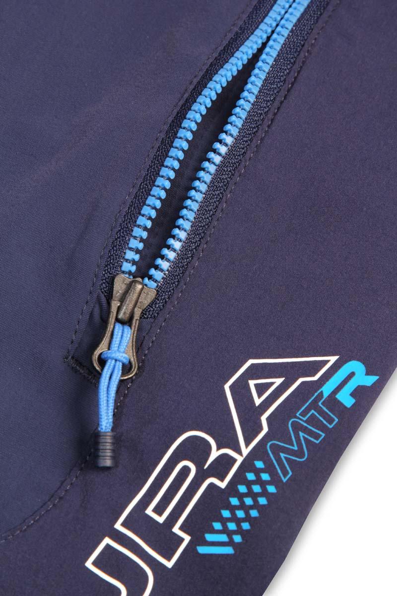 Zipped hand pockets and rear waist security pocket