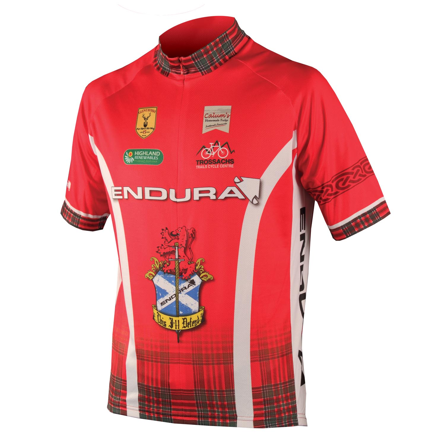 CoolMax® Printed Clan Jersey Red