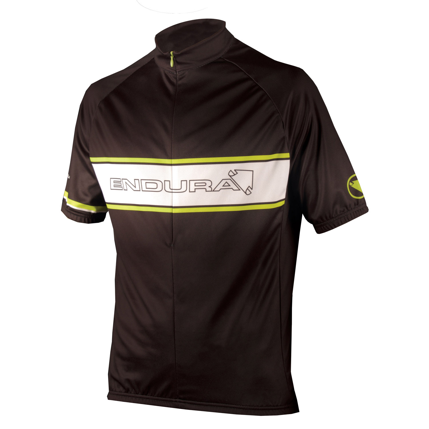 COOLMAX® Printed Endura Retro Jersey Black