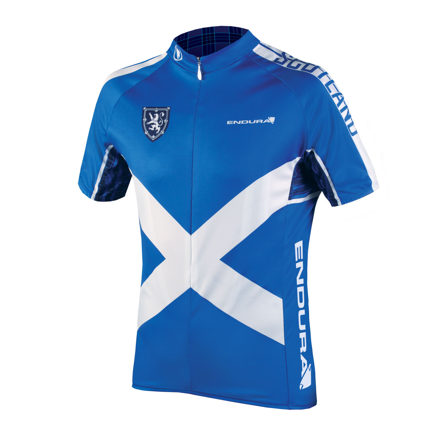 COOLMAX® Printed Scotland Jersey II Black/None