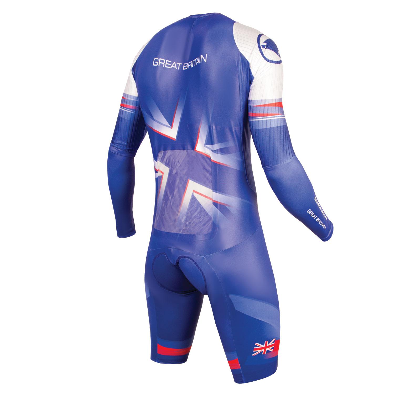 Team GB Men's Drag2Zero Encapsulator TT Suit NON SST back