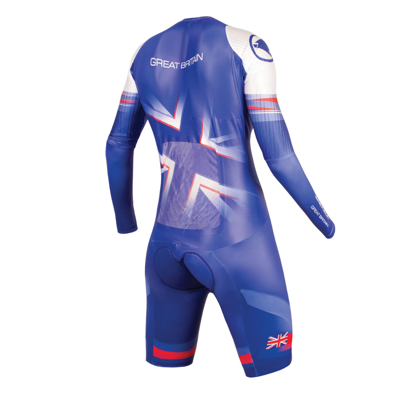 Team GB Women's Drag2Zero Encapsulator TT Suit NON SST back