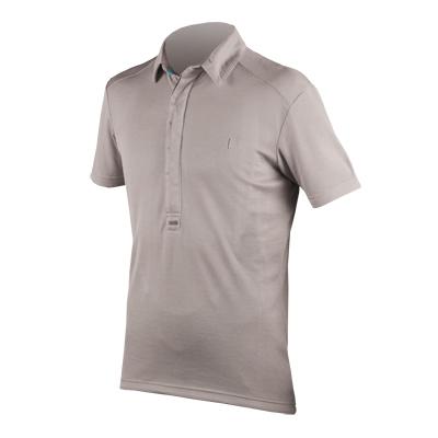 Urban COOLMAX® Merino S/S Polo Shirt Stone