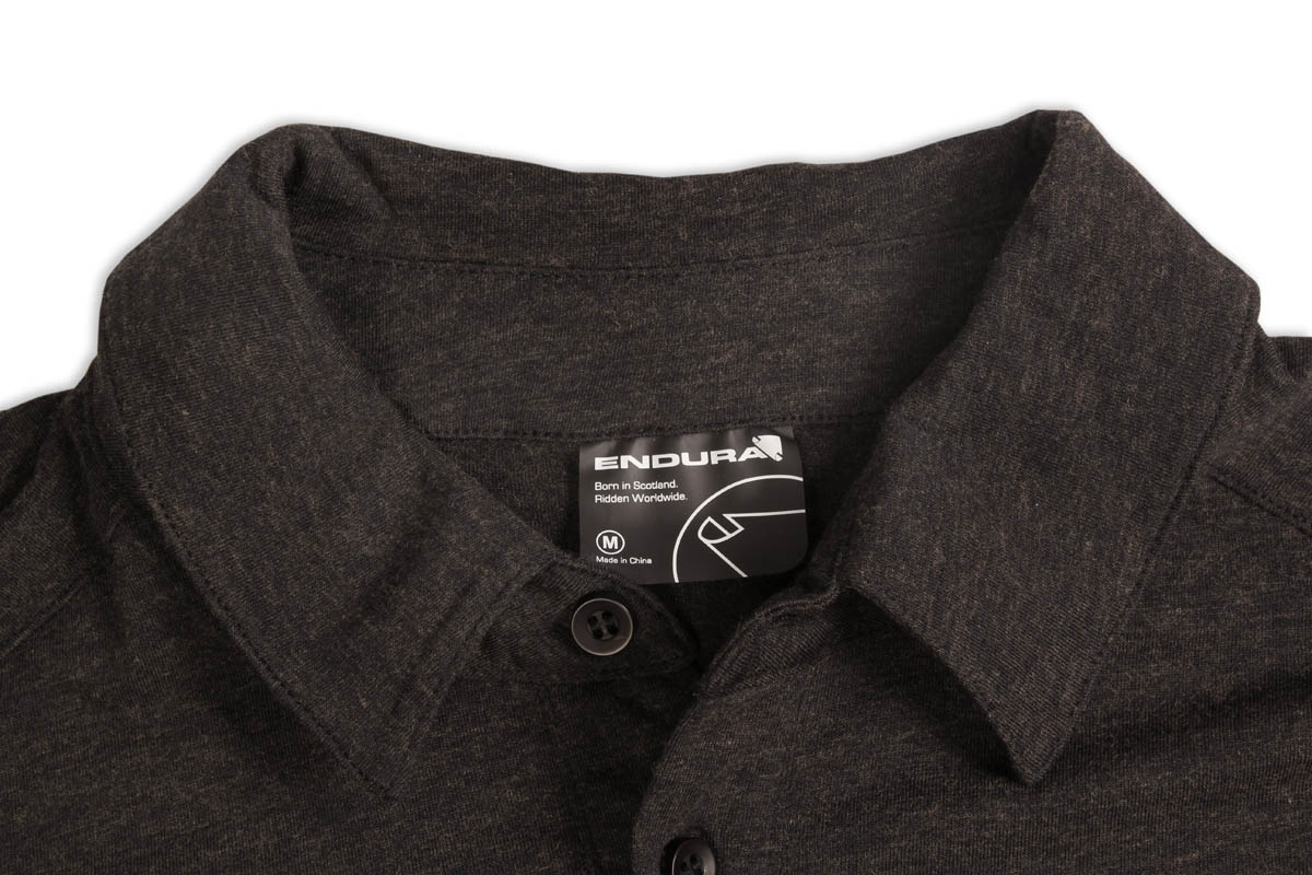 2 piece collar with button placket
